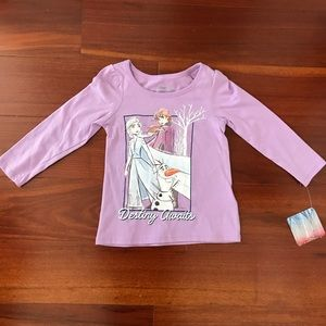 Disney Frozen 2 Elsa Anna Top